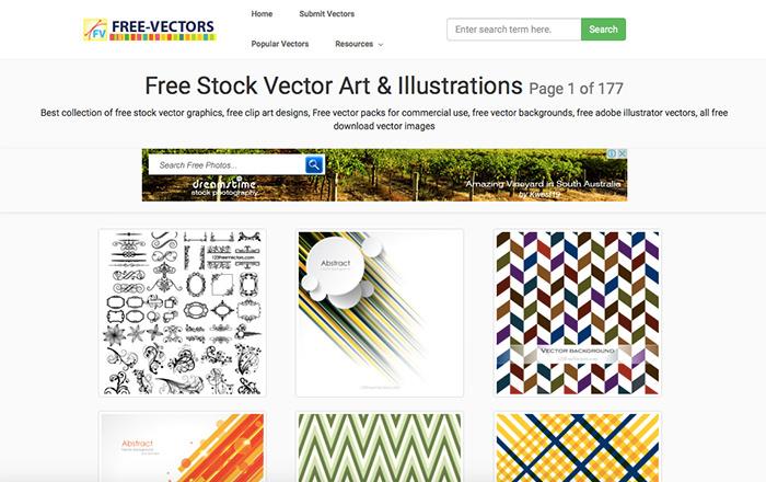 9 free vectors