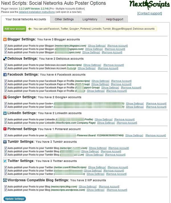 devamm - WordPress Sosyal Medyada Otomatik Yazı Paylaşma