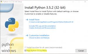 python kurulum 2